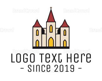 Cathedral - Catholic Church logo design