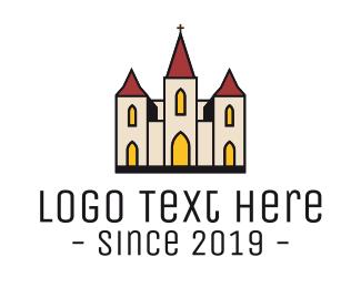 Church - Catholic Church logo design