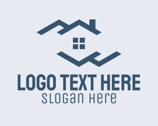 Property - Blue Residential Property logo design