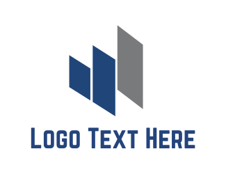 Construction - Abstract Buildings logo design
