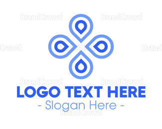 Store - Abstract Beauty Cloverleaf logo design