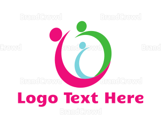 Family - Nuclear Family logo design