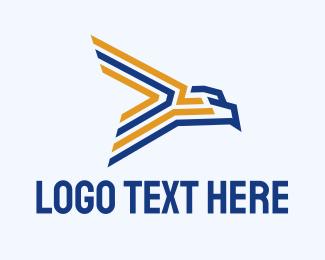 Airline - Modern Eagle Airline logo design