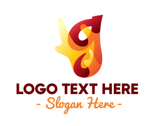 Chili - Chili Flaming Letter G logo design