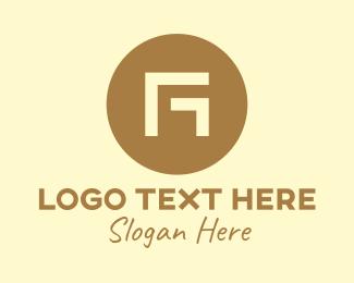 Minimalist Circle Letter G Logo
