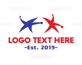 Fighting - Star Wars logo design