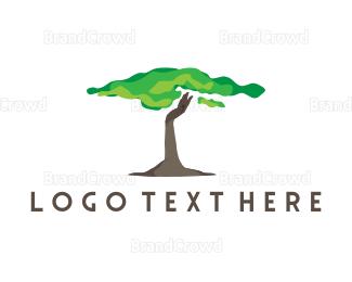 Madagascar - African Tree logo design