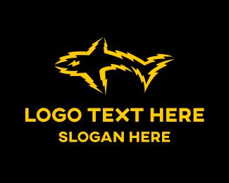 Shark - Electric Shark logo design