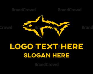 Electrical Supplier - Electric Shark logo design