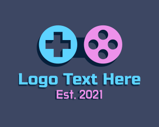 Twitch - Game Pad Controller logo design