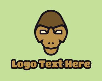 Twitch - Monkey Mascot logo design