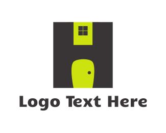 Roofing - Door & Window logo design