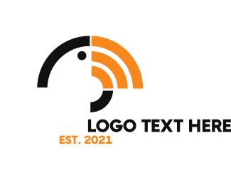 Mobile Service - Toucan Signal logo design