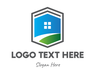 Lawn - Buy And Sell Home logo design