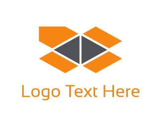 Deliver - Orange Package logo design