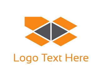 Pack - Orange Package logo design