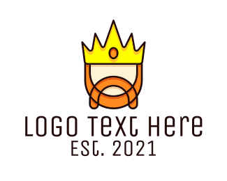 Sovereign - Royal King Character logo design