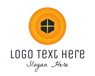 Yellow House - Yellow Window logo design