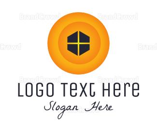 Home Furnishing - Yellow Window logo design