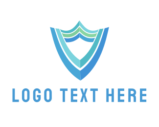 Safeguard - Blue Shield logo design