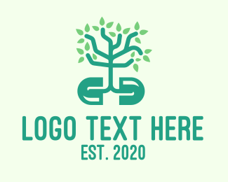 Mangrove - Green Organic Plant Supplement logo design