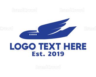 Wing - Airplane Wings logo design