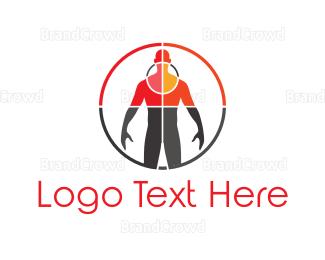 Better - Human Scan logo design