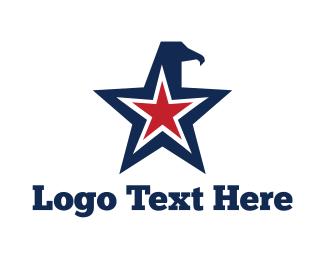 Vulture - Eagle Star logo design
