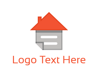 Note - Home Note logo design