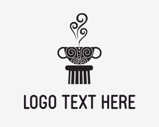 Cyprus - Coffee Culture logo design