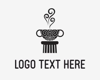 Hot Chocolate - Coffee Culture logo design