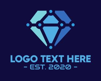 Diamond - Diamond Tech logo design