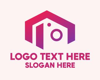 Instagram - Modern Influencer Camera logo design