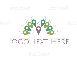 Peacock - Peacock Place logo design