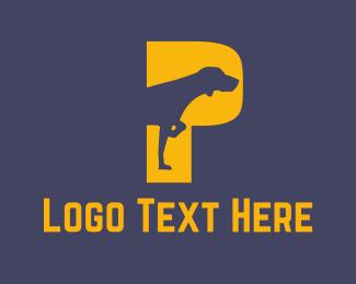 Hunter - Pointer Dog logo design