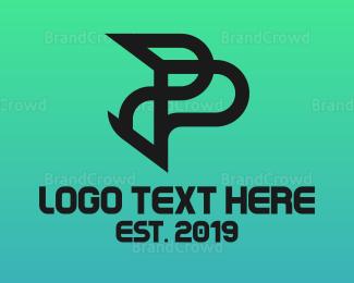 Predator - Predator P logo design