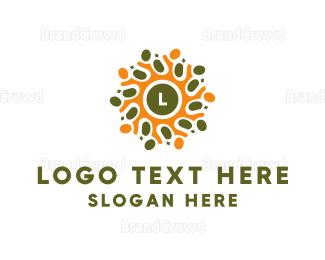 Cell - Cellular Lettermark logo design