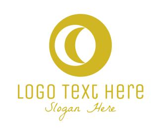 Luxurious - Luxurious Moon logo design