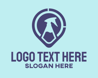 Disinfecting - Disinfectant Spray logo design