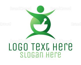 Recipe - Healthy Nutritionist logo design