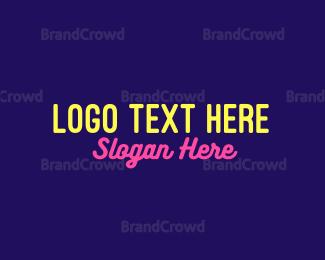 Led - Neon Signage logo design