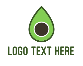 Guacamole - Green Avocado logo design
