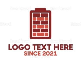 Build - Battery Bricks logo design