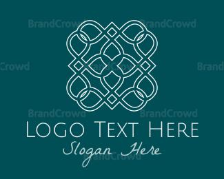 White - White Tile logo design