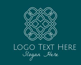 Decor - White Tile logo design