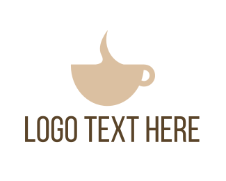 Latte - Simple Coffee logo design