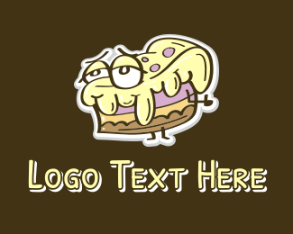 Delicious - Cake Mascot  logo design