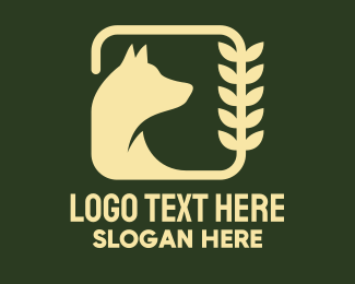 Ecosystem - Yellow Plant & Animal logo design