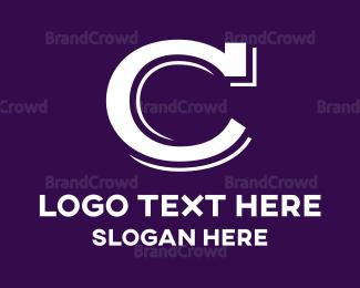 Core - Vintage Letter C logo design