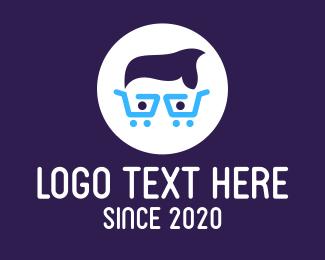 Geek - Shopping Cart Geek logo design